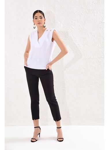 Setre Bluz Beyaz